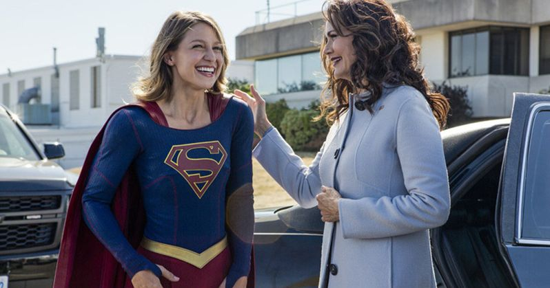 Meet President Lynda Carter in New Supergirl Season 2 Clips