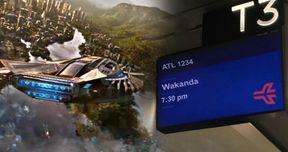 ATL Airport Has Black Panther Flights Departing for Wakanda