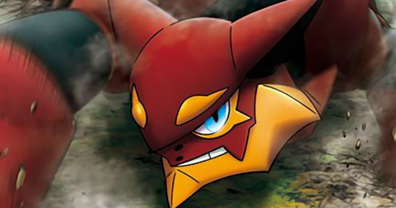 Meet New Pokemon Volcanion in XY & Z the Movie