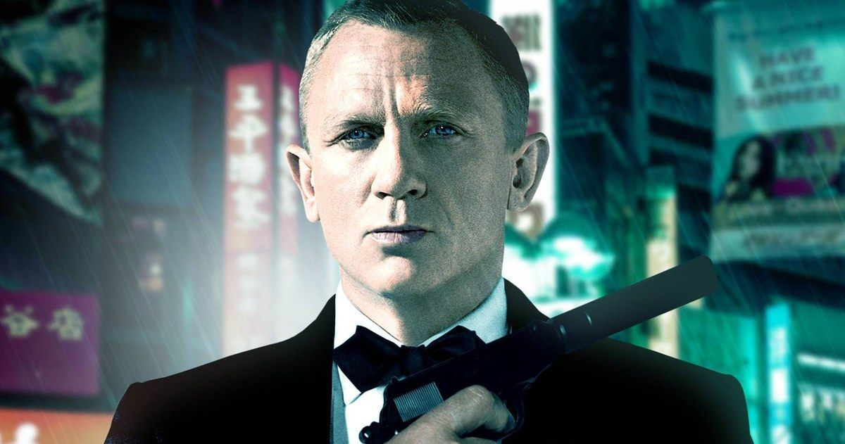 Current James Bond