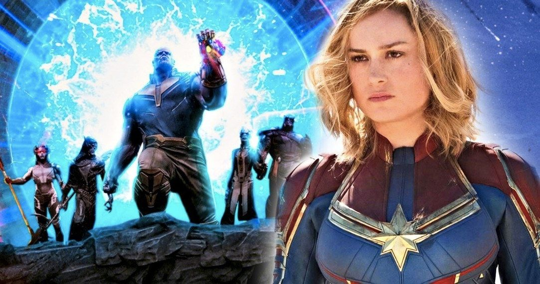 Is Captain Marvel Bringing in Thanos and the Black Order