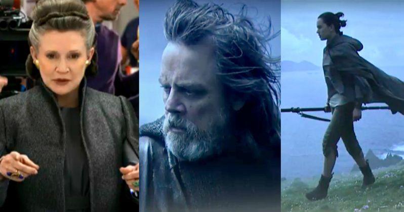 Star Wars 8 Director Shares Last Jedi Behind-the-Scenes Photos