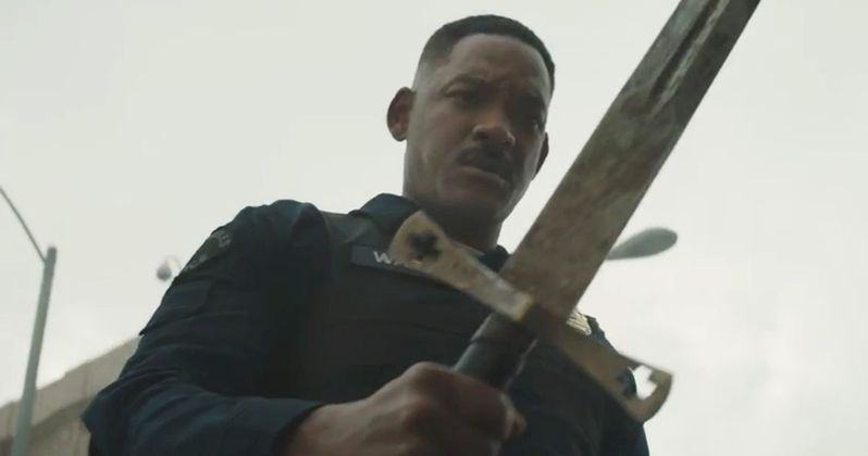 Netflix's Bright Trailer Has Will Smith Battling Mystical Creatures