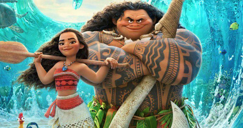 Meet Dwayne Johnson's Maui in New Moana Clip