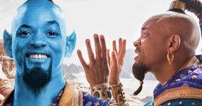 Will Smith Promises Genie Will Be Blue in Disney's Aladdin Remake