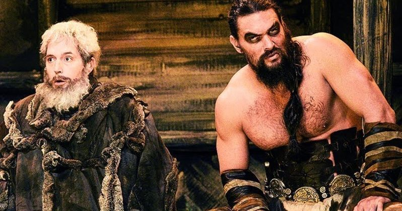 Jason Momoa Returns as Khal Drogo in SNL Game of Thrones Sketch