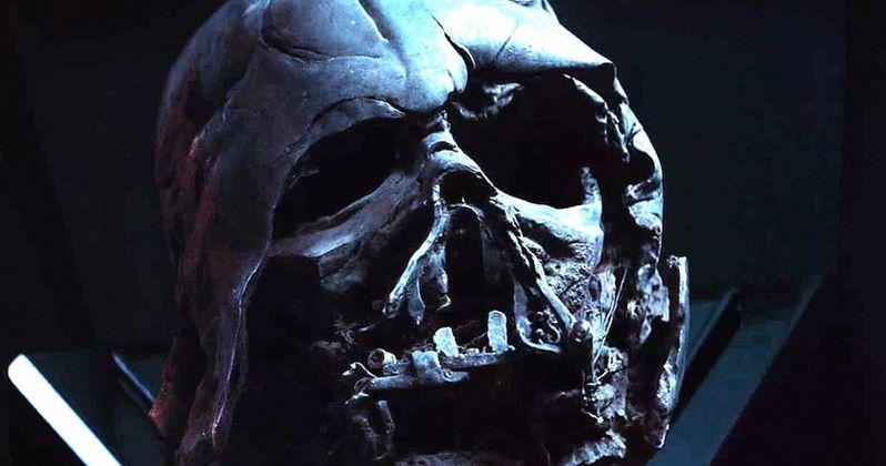 Darth Vader's Helmet Returns in New Rise of Skywalker Footage Revealed at D23