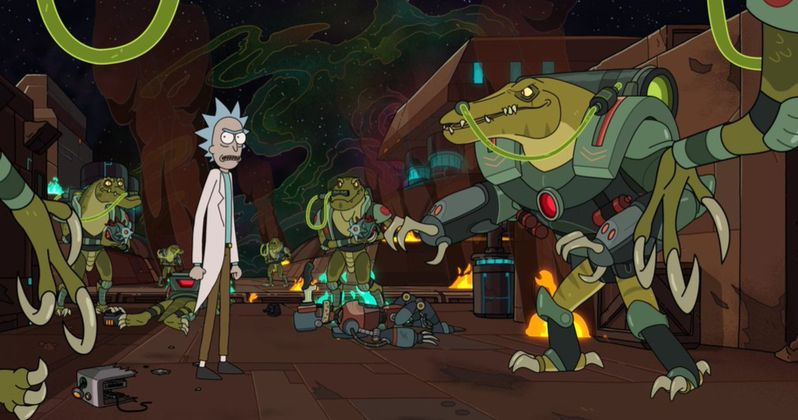 First Rick and Morty Season 4 Images Unleash Crocodile Cyborgs