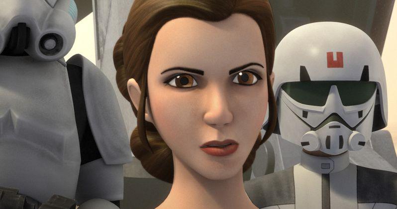 Princess Leia Arrives in Star Wars Rebels Season 2 Preview