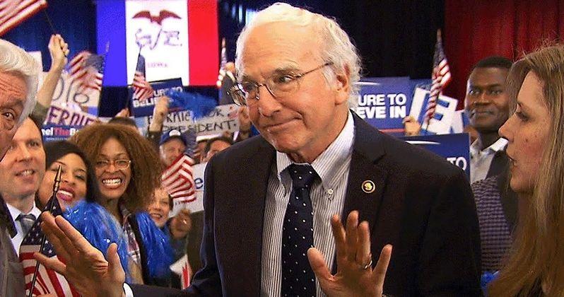Larry David Is Bernie Sanders in Bern Your Enthusiasm SNL Skit
