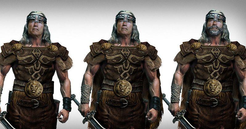 Arnold Schwarzenegger Reveals More The Legend of Conan Details