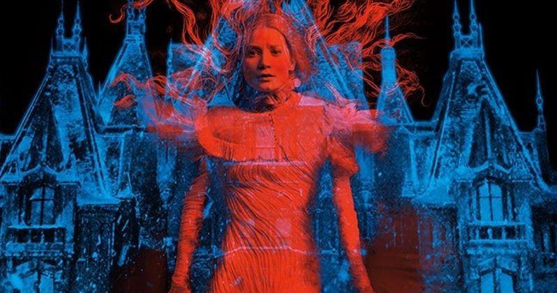 Crimson Peak Motion Poster; Trailer #2 Coming Tomorrow