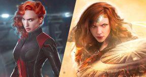 Gal Gadot Is Black Widow, Scarlett Johansson Is Wonder Woman, Jason Momoa Is Thor in New Fan Art