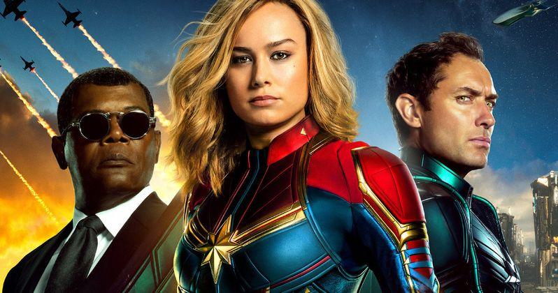 Captain Marvel Rating Revealed, Won't Be Heading to Netflix