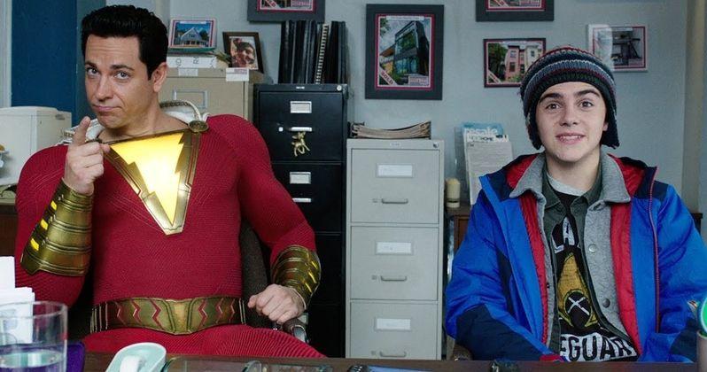 New Shazam! TV Trailer Brings Big Laughs and Hard-Hitting Action