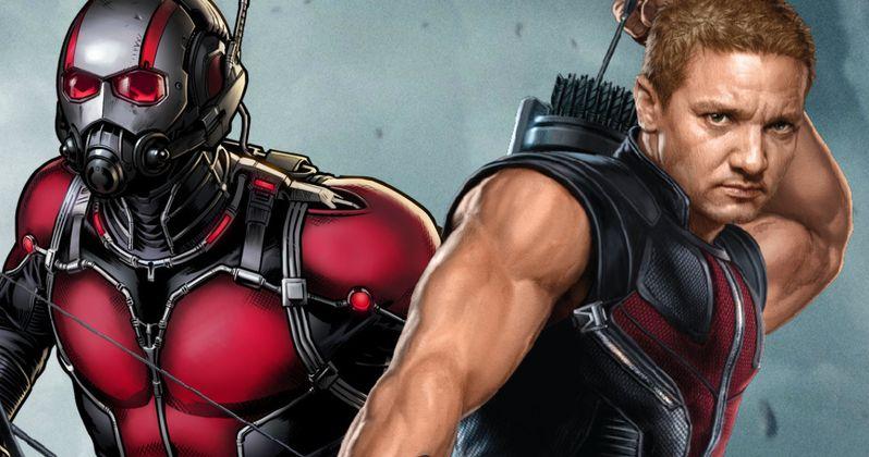 Ant-Man & Hawkeye Team Up in New Captain America: Civil War Art