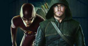 Arrow Vs. Flash Crossover Set Photos Revealed