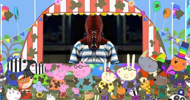 Peppa Pig Screening Terrifies Kids with Horror Trailers Shown Beforehand