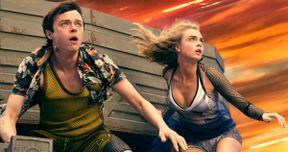 Cara Delevingne & Dane DeHaan Hit Hyperspace in New Valerian Photos