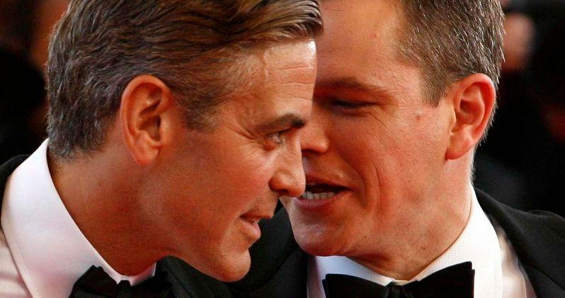 Damon & Clooney Claim They Never Saw Harvey Weinstein's Darker Side