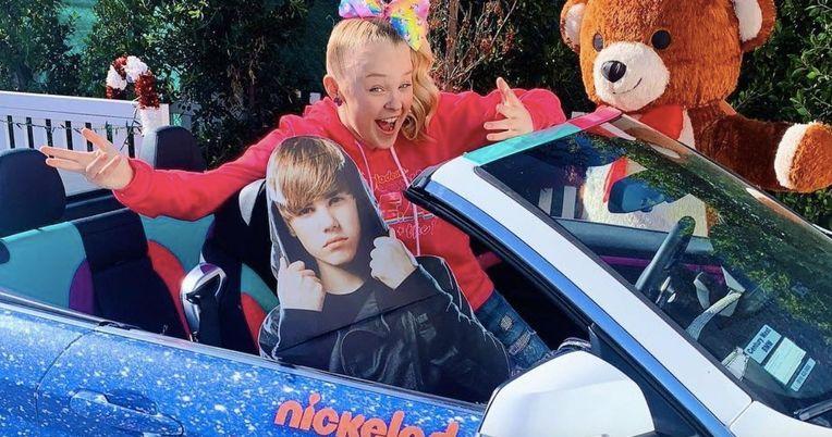 JoJo Siwa Ends Justin Bieber Feud Ignited Over Car Burning Comment