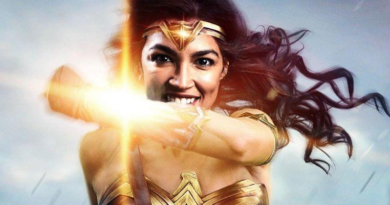 AOC Wonder Woman Cover Art Gets Shut Down by DC Comics