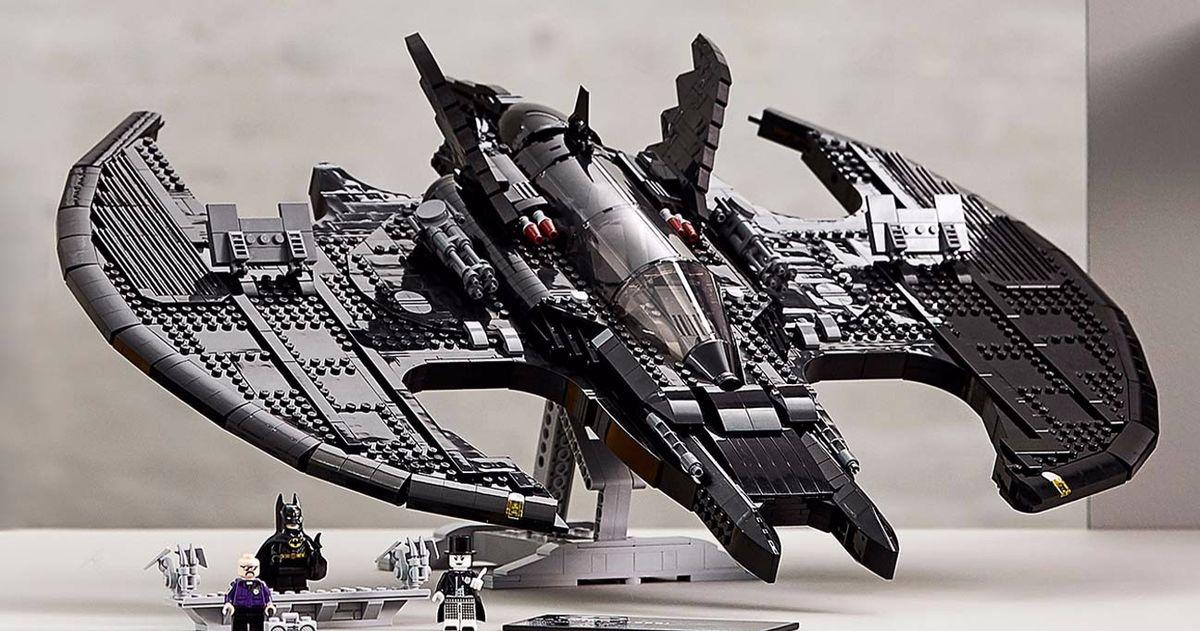 Lego Unveils 1989 Batwing Set in Celebration of Batman Day