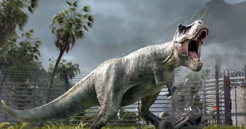Jurassic World Evolution Theme Park Simulator Announced from Planet Coaster