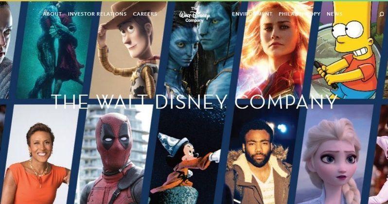Deadpool, Avatar & The Simpsons Officially Added to Disney Website
