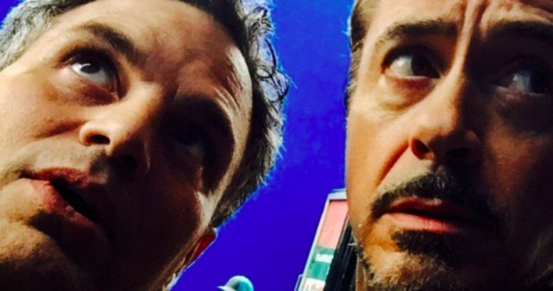 Infinity War Selfie Reunites the Science Bros.