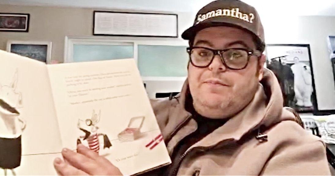 Frozen Star Josh Gad Is Reading Bedtime Stories for Kids on Twitter