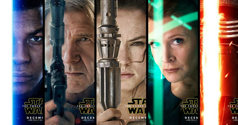 Star Wars 7 Character Posters with Han, Leia, Rey, Finn & Kylo Ren