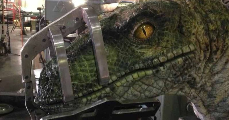 Jurassic World 2 Set Photo Teases Old School Animatronic Dinosaurs