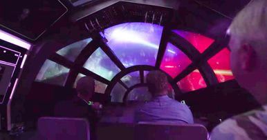 New Star Wars Land Video Teases Theme Park Attractions