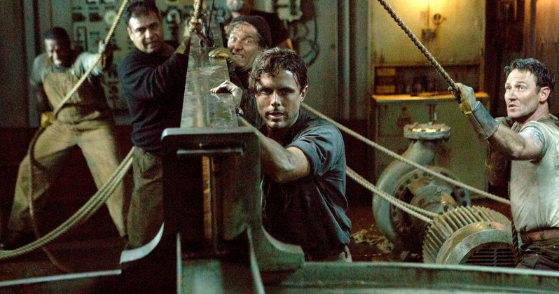 The Finest Hours Set Visit with Chris Pine & Director Craig Gillespie