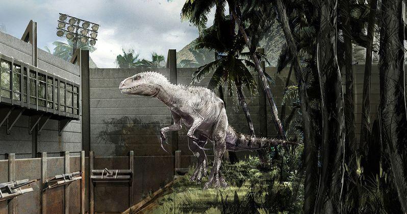 Jurassic World Concept Art Goes Inside the Theme Park