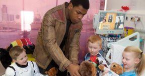 Star Wars Star John Boyega Visits Children's Hospital Dressed as Finn