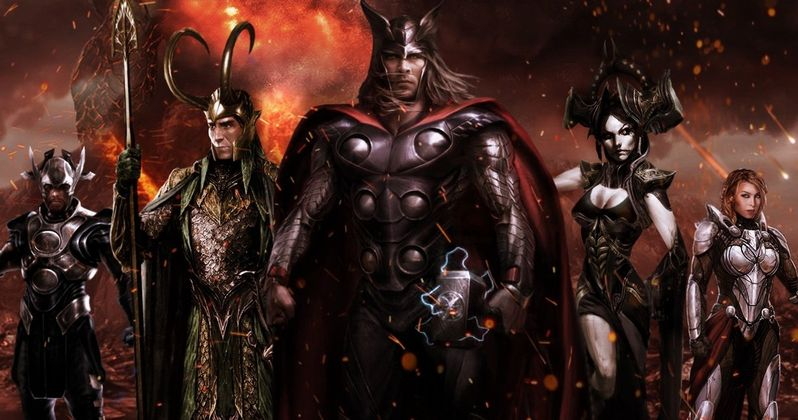 Ragnarok Photos Tease a Mystery Character, Is It Thor's Real Mom?