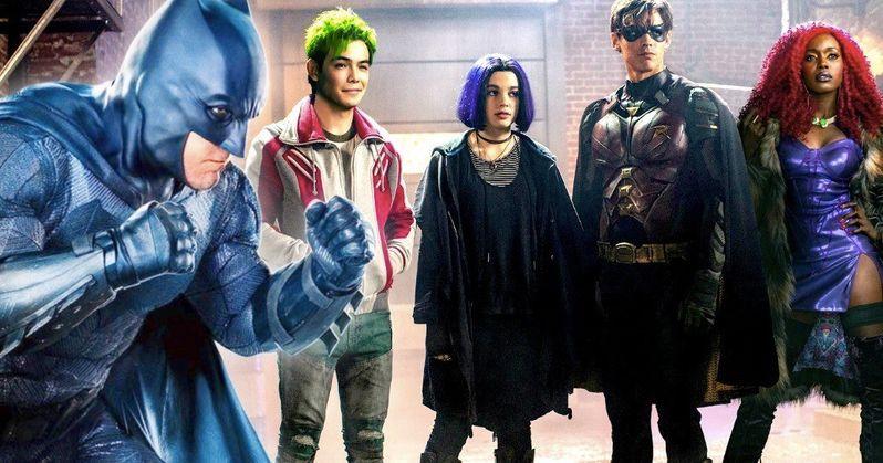 Is That Ben Affleck's Batman in the New Titans Trailer?