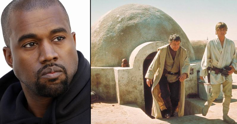Kanye West Creating Star Wars Themed Housing for Low-Income Families