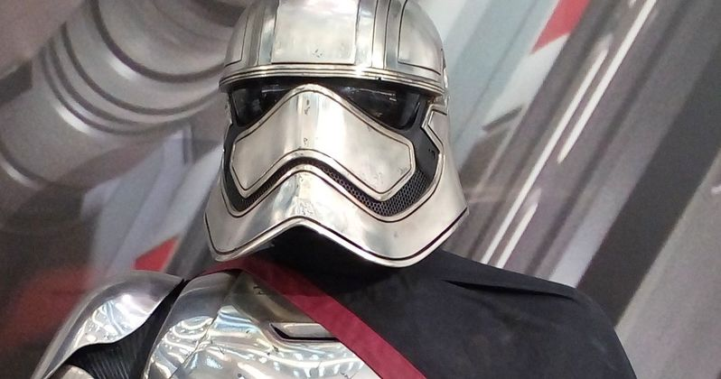 Why Doesn't Captain Phasma Take Her Helmet Off in Star Wars: The Force Awakens?