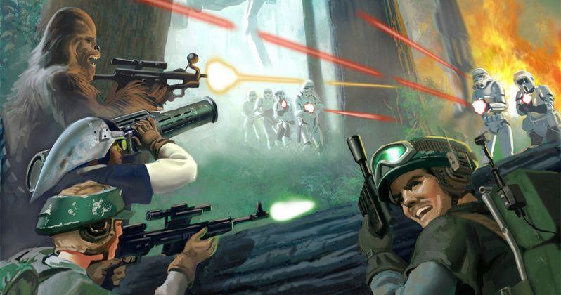 Star Wars 7 Forest Battle Details Tease a Return to Endor