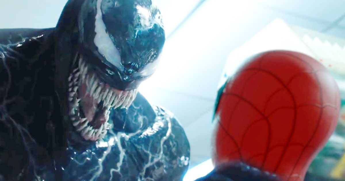 Tom Hardy Slyly Teases Venom Cameo in Spider-Man: No Way Home Via His Production Hat?