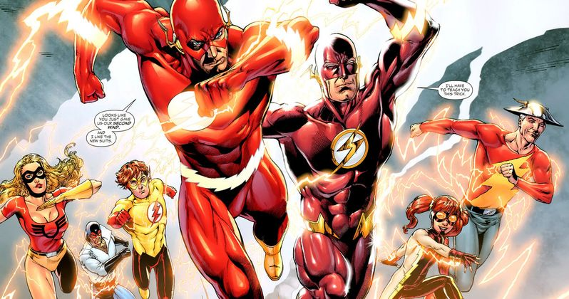 The Flash Season 2 Will Explore the Multiverse