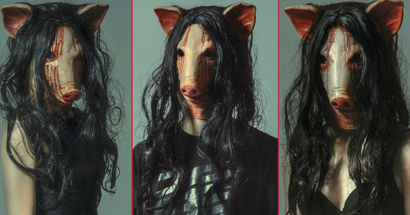 Pig Out on This Gory Buffet of Jigsaw Posters