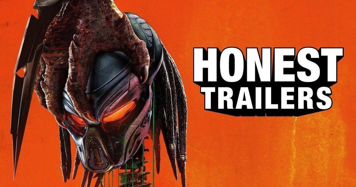 The Predator Honest Trailer Rips Through the Reboot Like a Chestburster