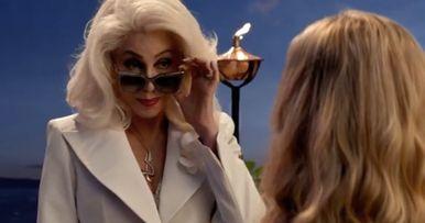 Cher Arrives in Mamma Mia 2 Extended Sneak Peek