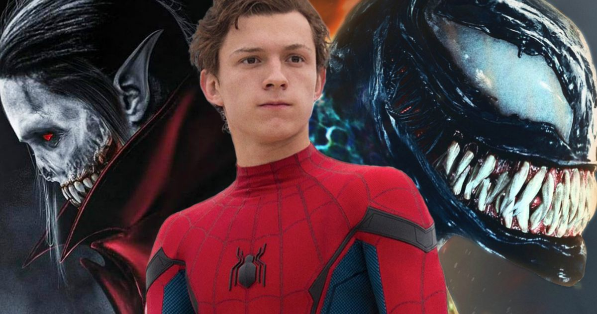 Morbius Movie >> Spider Man Will Join Venom Morbius In Sony S Marvel Universe