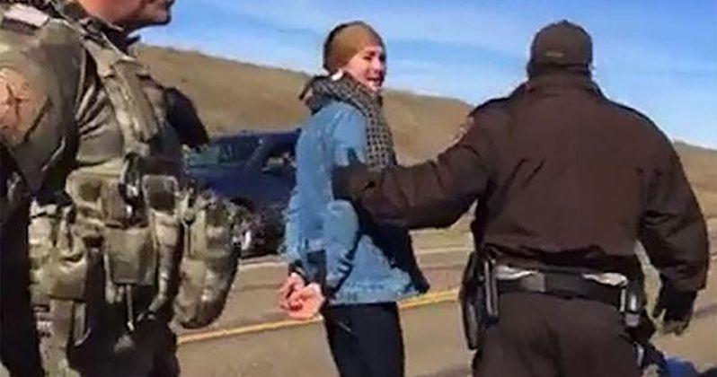 Actress Shailene Woodley Arrested Protesting Dakota Pipeline