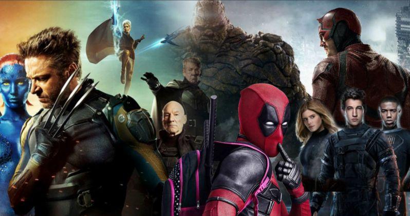 Secret X-Men, Deadpool, Daredevil & Fantastic Four Team-Up Movie Was Planned at Fox